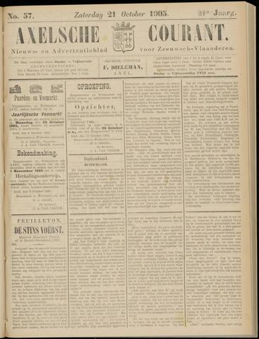 Axelsche Courant 1905-10-21