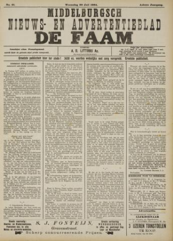 de Faam en de Faam/de Vlissinger 1904-07-20