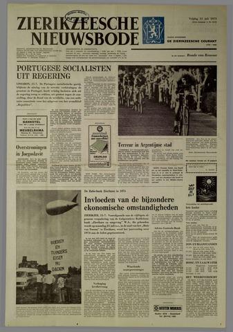 Zierikzeesche Nieuwsbode 1975-07-11