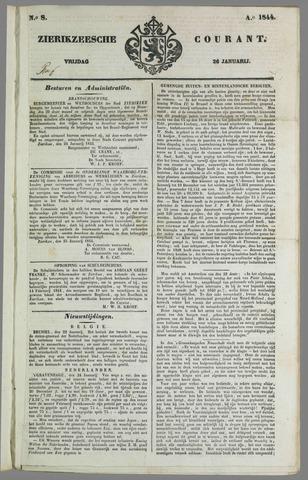 Zierikzeesche Courant 1844-01-26