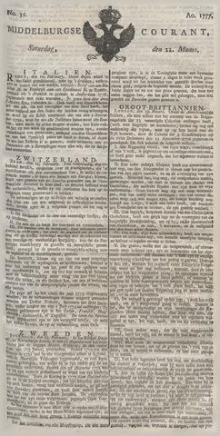 Middelburgsche Courant 1777-03-22