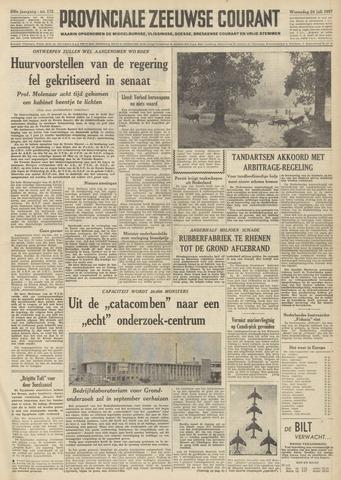 Provinciale Zeeuwse Courant 1957-07-24