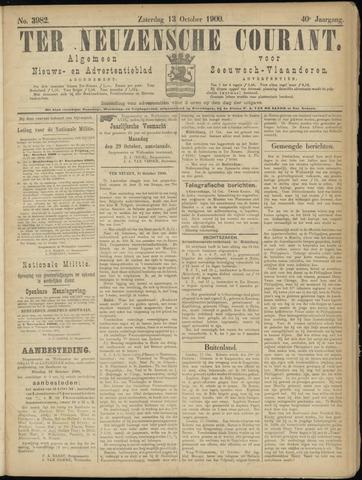 Ter Neuzensche Courant. Algemeen Nieuws- en Advertentieblad voor Zeeuwsch-Vlaanderen / Neuzensche Courant ... (idem) / (Algemeen) nieuws en advertentieblad voor Zeeuwsch-Vlaanderen 1900-10-13