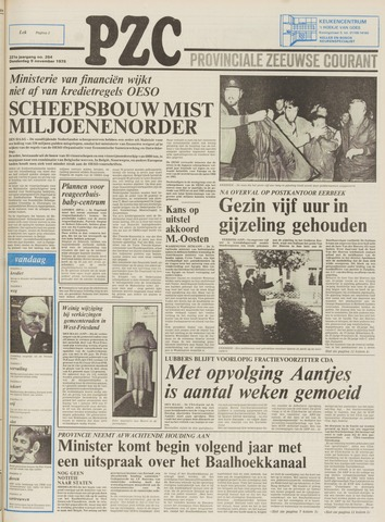 Provinciale Zeeuwse Courant 1978-11-09