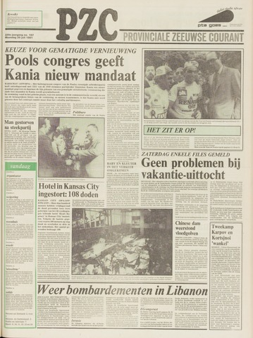 Provinciale Zeeuwse Courant 1981-07-20