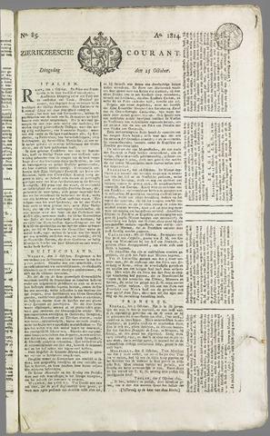 Zierikzeesche Courant 1814-10-25