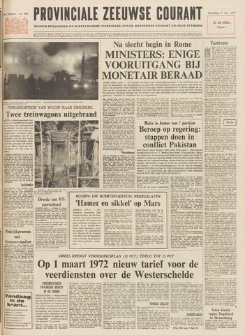Provinciale Zeeuwse Courant 1971-12-01