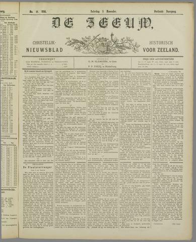 De Zeeuw. Christelijk-historisch nieuwsblad voor Zeeland 1898-11-05