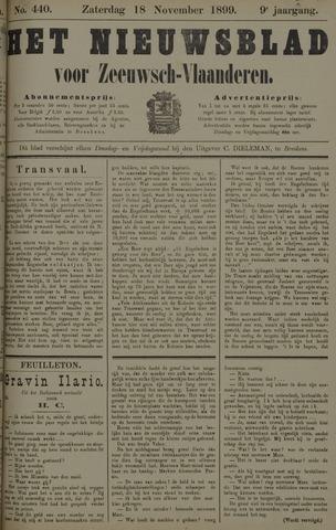 Nieuwsblad voor Zeeuwsch-Vlaanderen 1899-11-18