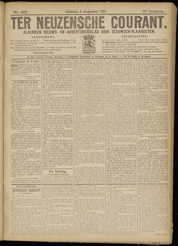 Ter Neuzensche Courant. Algemeen Nieuws- en Advertentieblad voor Zeeuwsch-Vlaanderen / Neuzensche Courant ... (idem) / (Algemeen) nieuws en advertentieblad voor Zeeuwsch-Vlaanderen 1916-08-08