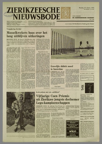 Zierikzeesche Nieuwsbode 1976-10-25