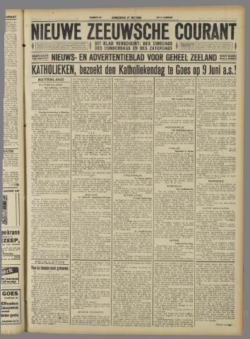 Nieuwe Zeeuwsche Courant 1926-05-27