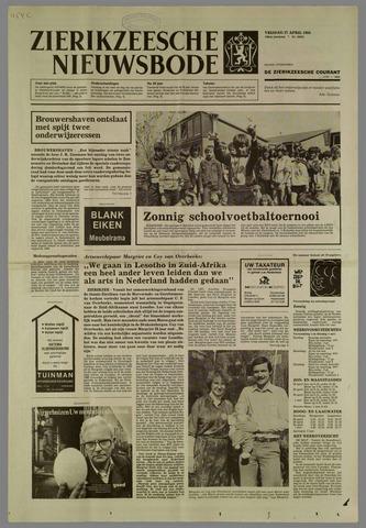 Zierikzeesche Nieuwsbode 1984-04-27