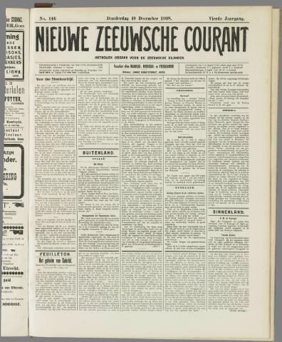 Nieuwe Zeeuwsche Courant 1908-12-10