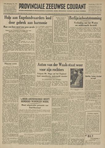 Provinciale Zeeuwse Courant 1949-05-12