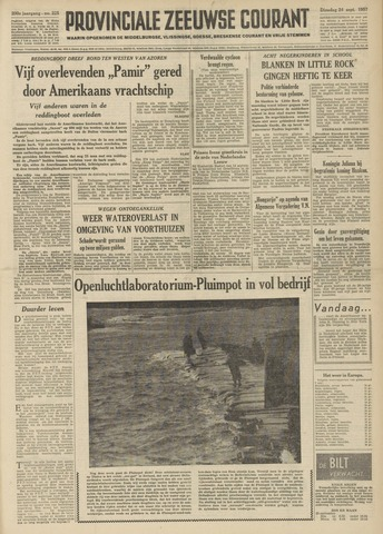 Provinciale Zeeuwse Courant 1957-09-24