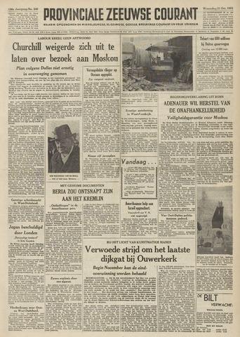 Provinciale Zeeuwse Courant 1953-10-21