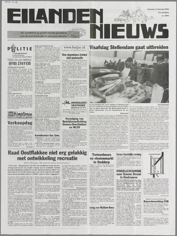 Eilanden-nieuws. Christelijk streekblad op gereformeerde grondslag 2000-02-15