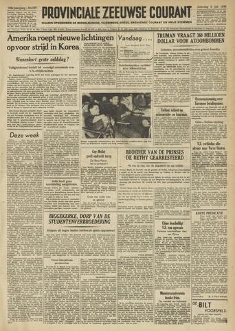 Provinciale Zeeuwse Courant 1950-07-08
