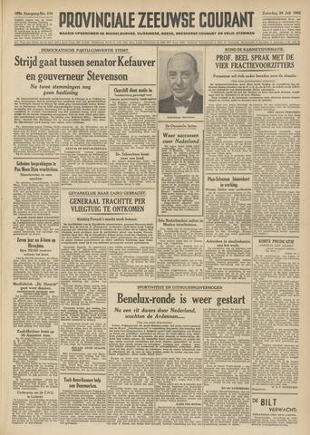 Provinciale Zeeuwse Courant 1952-07-26