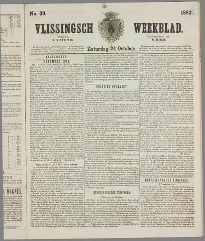 Vlissings Weekblad 1863-10-24