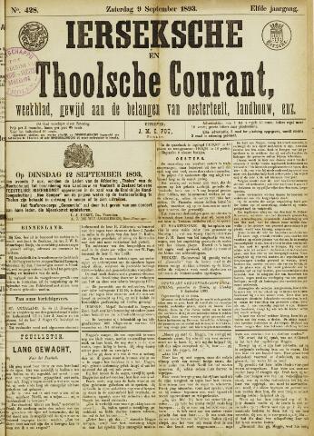 Ierseksche en Thoolsche Courant 1893-09-09