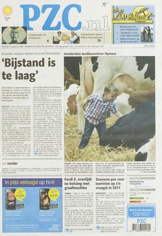 Provinciale Zeeuwse Courant 2009-08-04