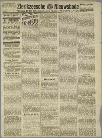 Zierikzeesche Nieuwsbode 1925-05-27