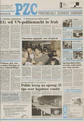 Provinciale Zeeuwse Courant 1991-04-29