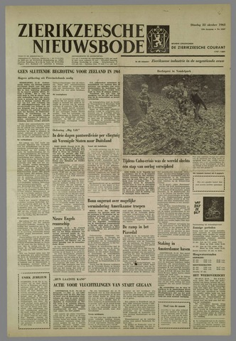 Zierikzeesche Nieuwsbode 1963-10-22
