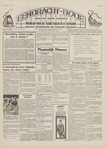 Eendrachtbode (1945-heden)/Mededeelingenblad voor het eiland Tholen (1944/45) 1969-05-29