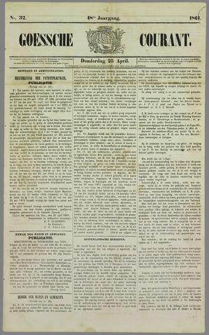 Goessche Courant 1861-04-25