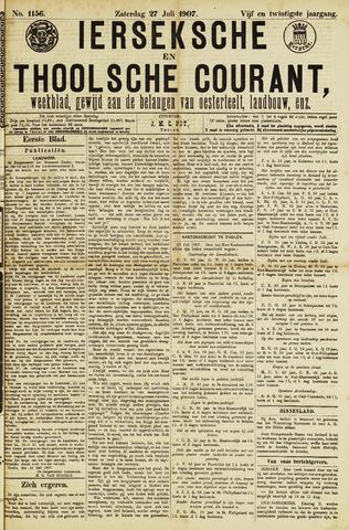 Ierseksche en Thoolsche Courant 1907-07-27