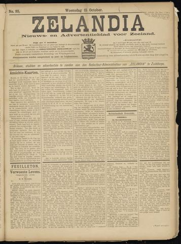 Zelandia. Nieuws-en advertentieblad voor Zeeland | edities: Het Land van Hulst en De Vier Ambachten 1902-10-15