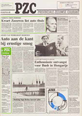 Provinciale Zeeuwse Courant 1989-07-12