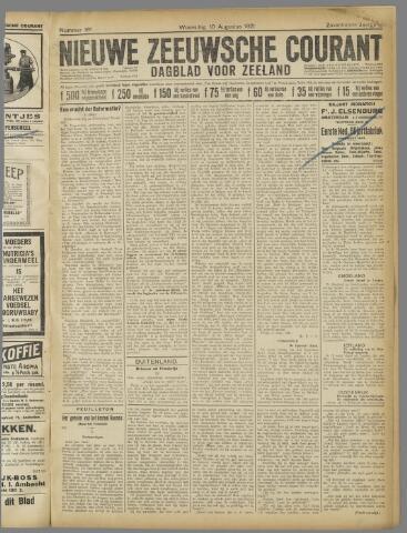 Nieuwe Zeeuwsche Courant 1921-08-10