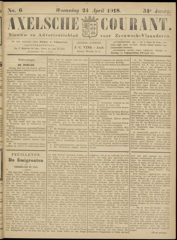 Axelsche Courant 1918-04-24
