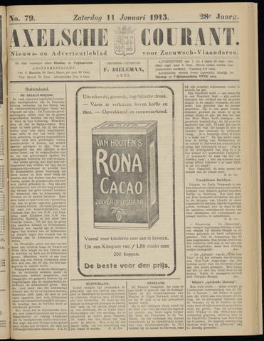 Axelsche Courant 1913-01-11