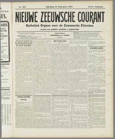 Nieuwe Zeeuwsche Courant 1905-09-16