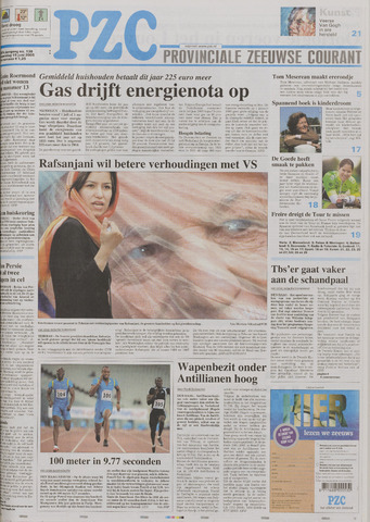 Provinciale Zeeuwse Courant 2005-06-15
