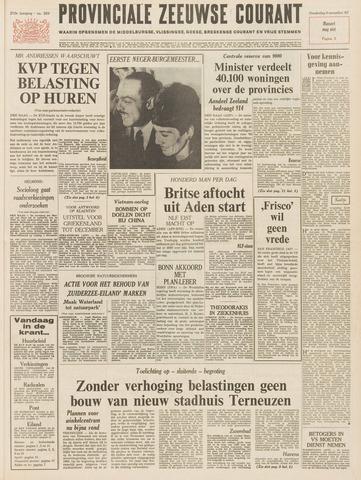 Provinciale Zeeuwse Courant 1967-11-09