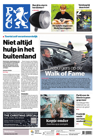 Provinciale Zeeuwse Courant 2018-12-08