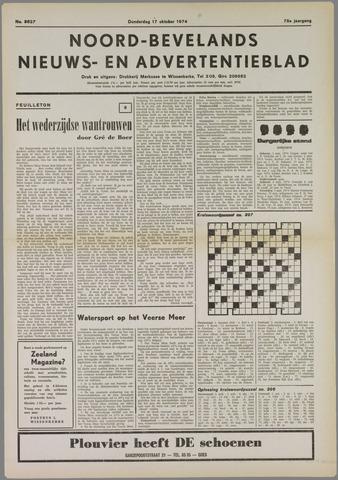 Noord-Bevelands Nieuws- en advertentieblad 1974-10-17