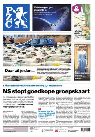 Provinciale Zeeuwse Courant 2018-01-03