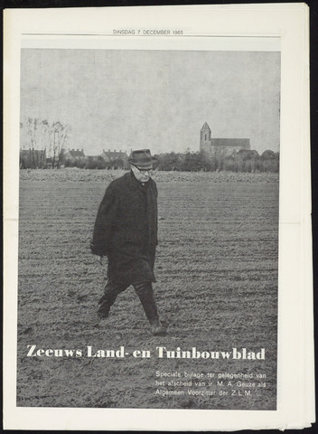 Zeeuwsch landbouwblad ... ZLM land- en tuinbouwblad 1965-12-07