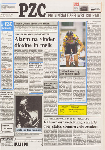 Provinciale Zeeuwse Courant 1989-07-15