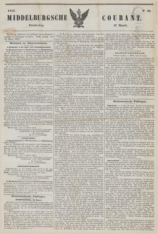 Middelburgsche Courant 1853-03-17