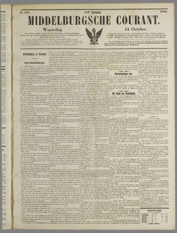 Middelburgsche Courant 1908-10-14