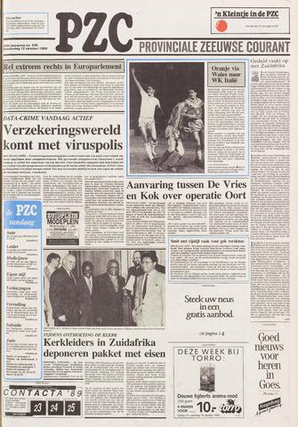 Provinciale Zeeuwse Courant 1989-10-12