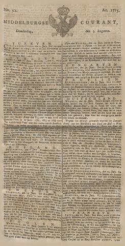 Middelburgsche Courant 1775-08-03